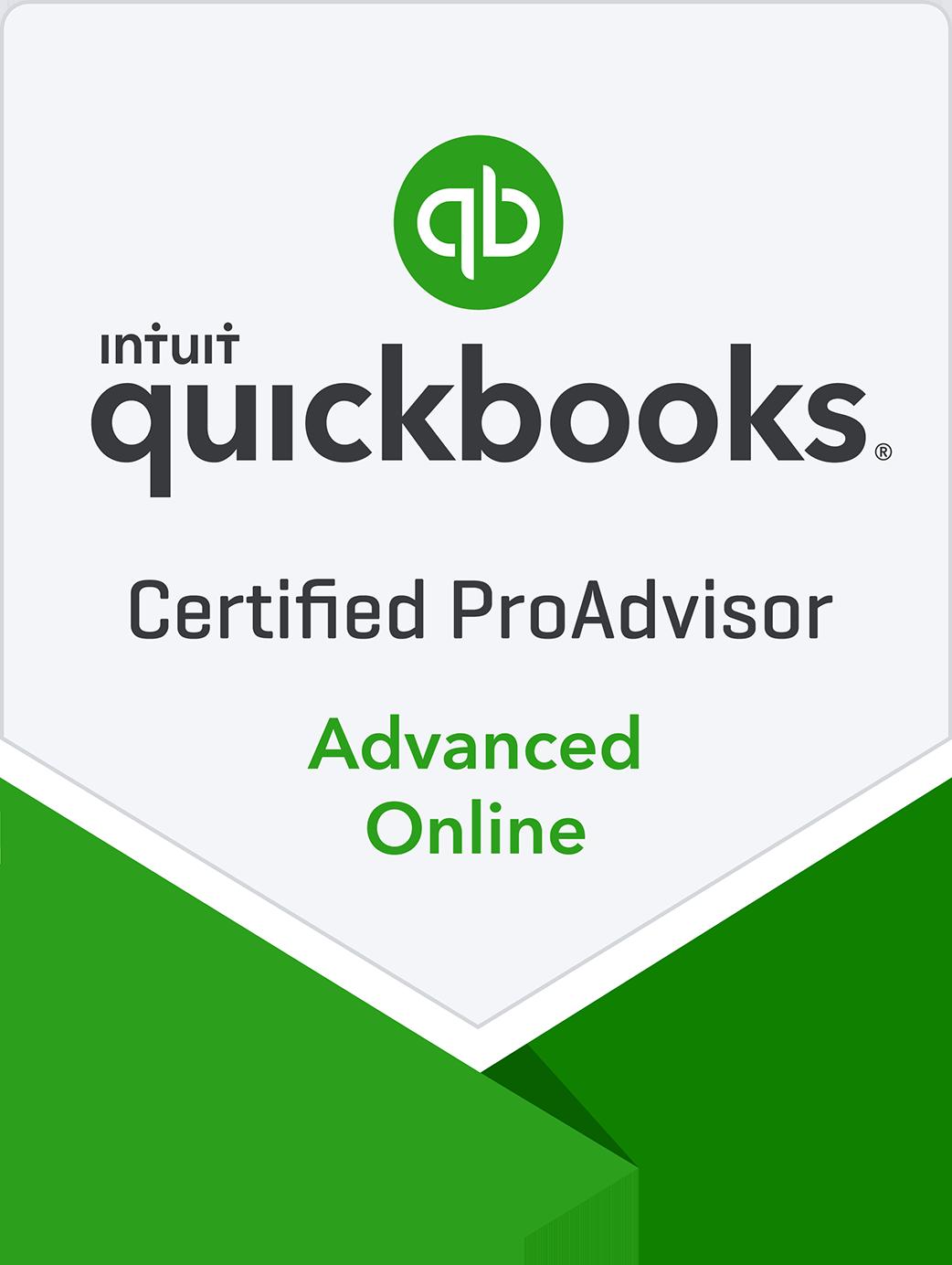 Certified QuickBooks Advance Online Proadvisor in the greater Mobile, AL area